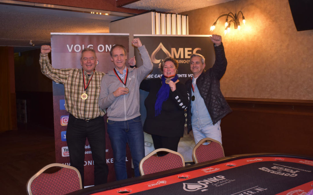 The Real Dreamteam is Team Poker Kampioen van Boxmeer